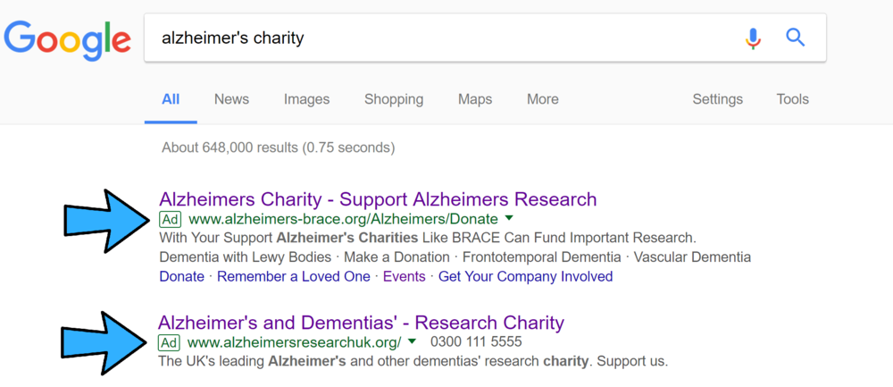 what is google ad grants